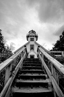 Old-Mission-Lighthouse-BW