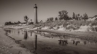 Little-Sable-Point-Lighthouse-BW