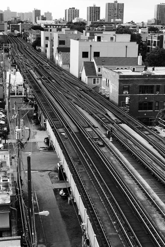 Rails in Wrigleyville