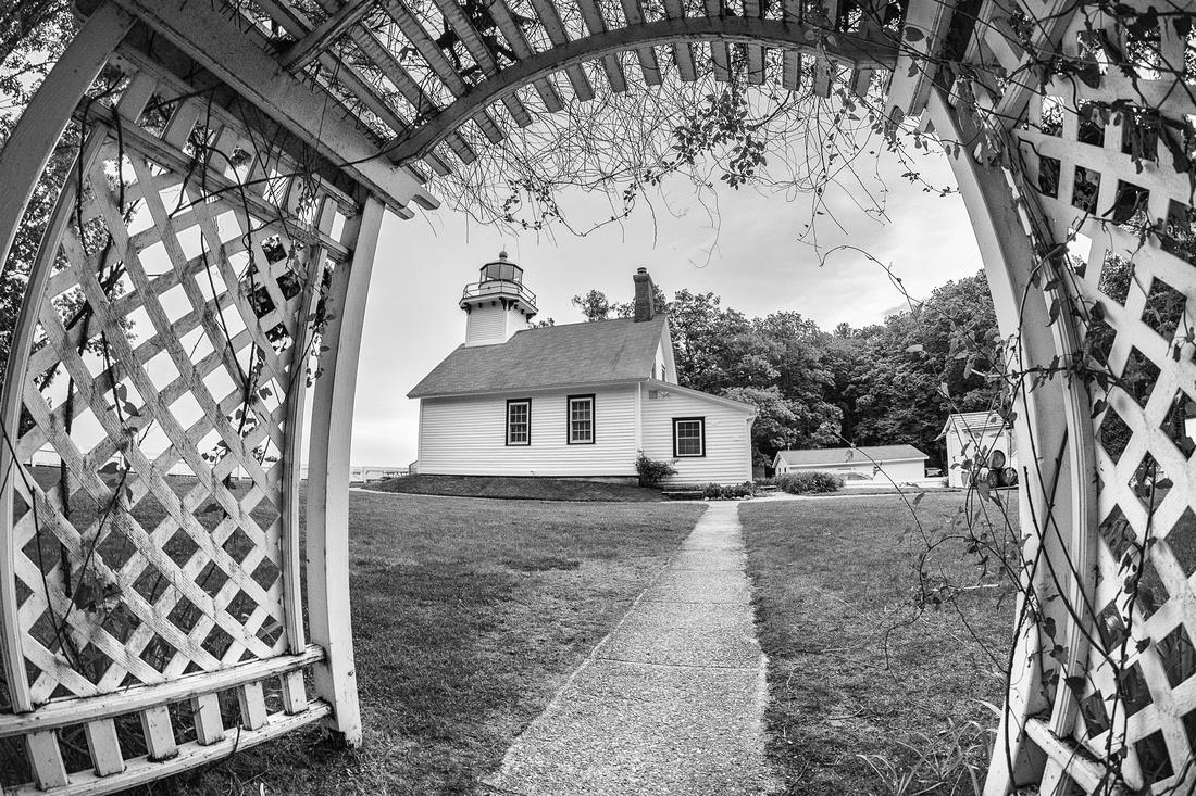 Old-Mission-Lighthouse-through-Trellis