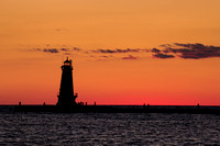 Ludington-Sunset